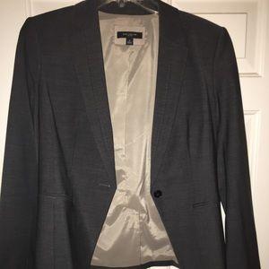 Gray Ann Taylor Suit Jacket